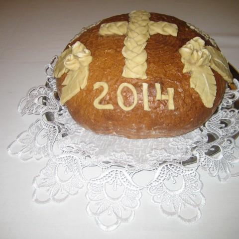 Dożynki parafialne w Jasionówce w 2014 r.