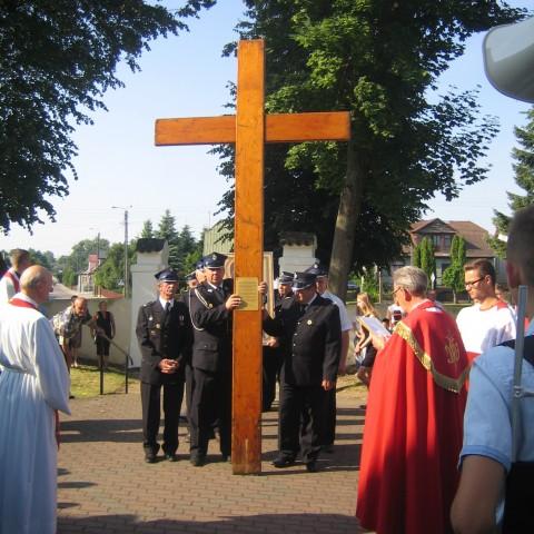 Symbole Ś.D.M. w Jasionówce.