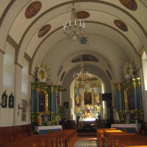 kościół po konserwacji